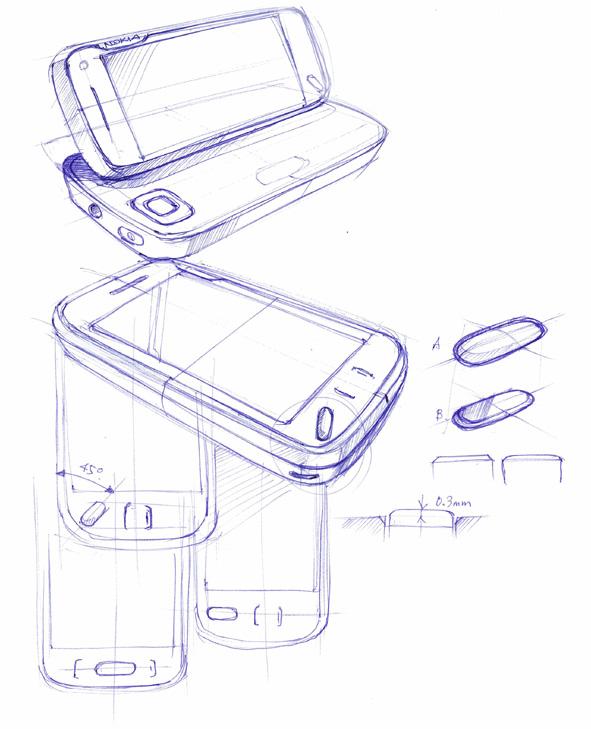 Nokia N97 Sketch
